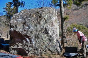 桜岩(ハング)